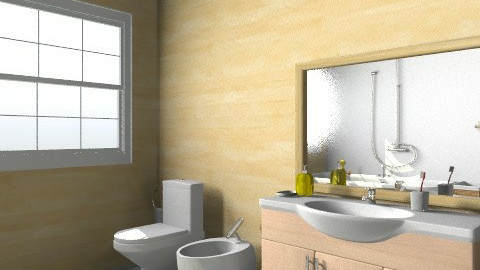 Bagno - Minimal - Bathroom - by jules_