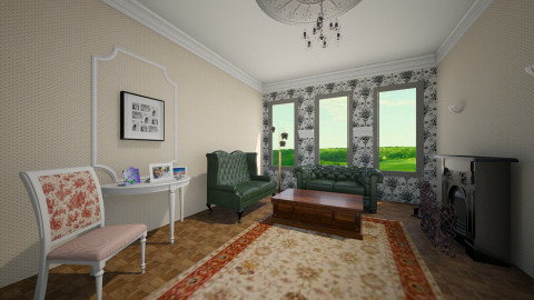 Old living - Vintage - Living room - by nioosh88