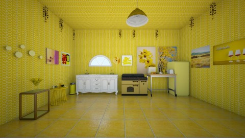 Mello Yellow - Classic - Kitchen - by InteriorDesigner111