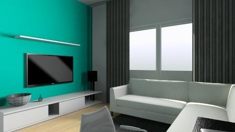 livingroom test 1 - Modern - Living room - by ghiekawai