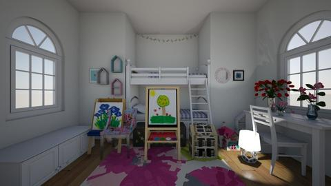 Bunked - Bedroom - by hlk