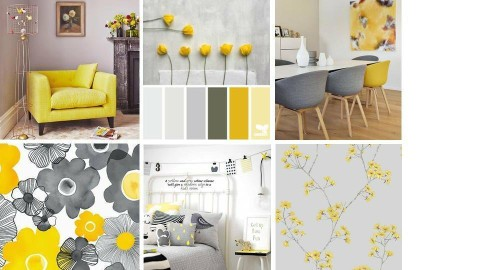 Yellow and Grey - by Cristina Mazilu