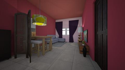 my drawing room - Living room - by arnabbittu1990