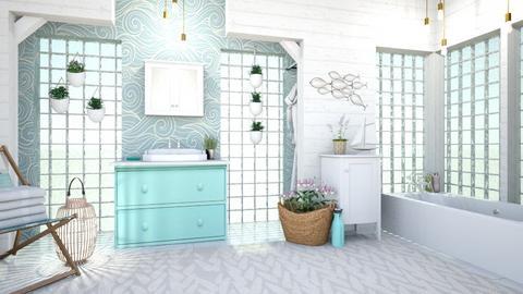 nautical bathroom - by Bren123