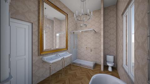 Salle de bain principale - Bathroom - by vincentbastien