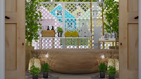 URBAN JUNGLE BATHROOM - Bathroom - by KC Pechangco