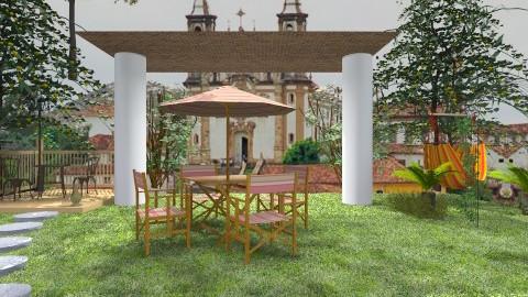 garden - Garden - by jujulianamara