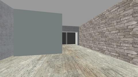 city loft - Living room - by Dwellings LLC