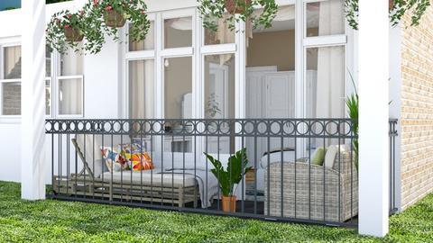 VersionX_Balcony - Garden - by Laurika