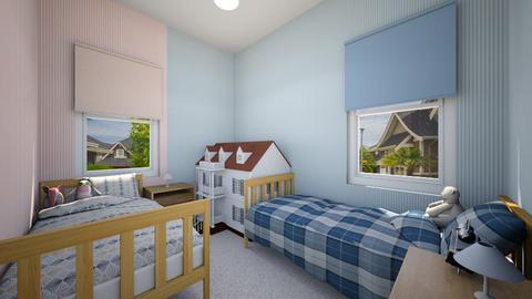 1950s Bedroom - Kids room - by SammyJPili
