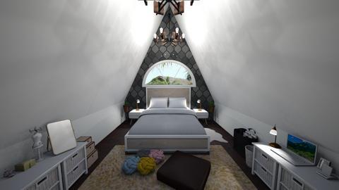 tepee - Bedroom - by Christella Werner