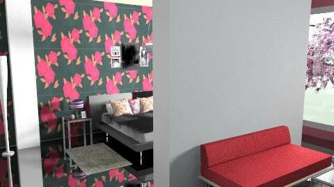lovely - Feminine - Bedroom - by magicadimitrova