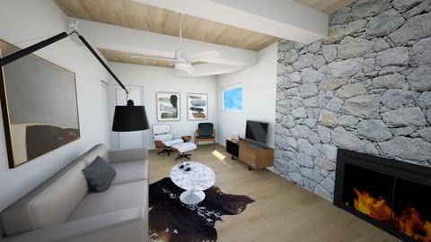 DWR Pearson Den - Living room - by mikaelawilkins