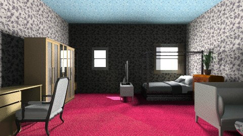 Dormitory 1 person - Bedroom - by guesswhoiam