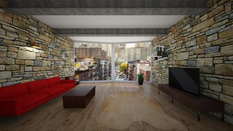 rustic new york suite - Living room - by Lady Twinkletoes
