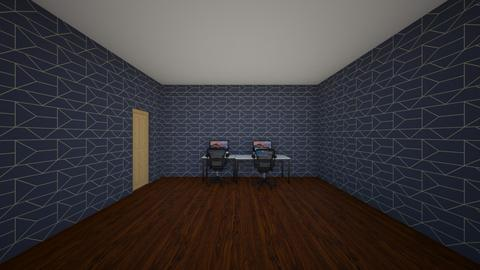 Game room - Office - by SirWaffleFanny