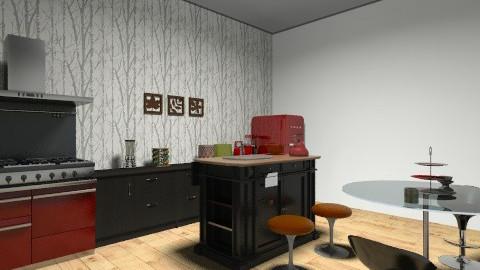 cozinha - Retro - Kitchen - by isabellaleite