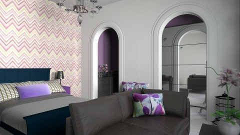 master bedroom - Eclectic - Bedroom - by martinabb