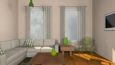 Cream3 - Living room - by Gubacsi Judit