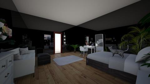 future room - Bedroom - by Inkkk
