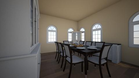 dining room - Classic - Dining room - by savage_cute1