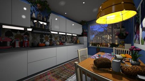 Cidade - Living room - by nanabpf