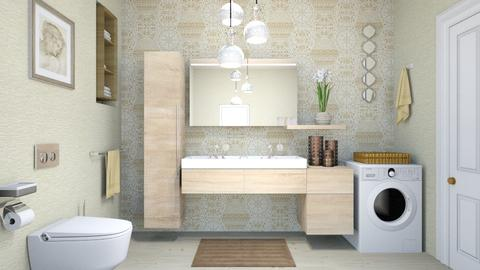 basic bath - Modern - Bathroom - by zayneb_17