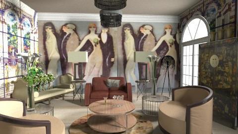 GranDecoed - Retro - Living room - by FRANKHAM