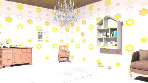 ROCIO BALTAZAR - Glamour - Kids room - by sweetro77