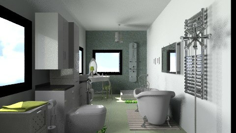 shipping  house  bathroom - Eclectic - by CARMEND70