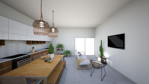 Zwembad huis - Living room - by By Anke