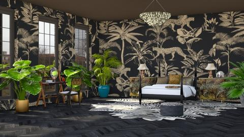 urban jungle bedroom - Modern - Bedroom - by kitty