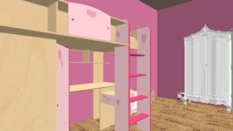 PINK - Classic - Kids room - by blobbyqwerty