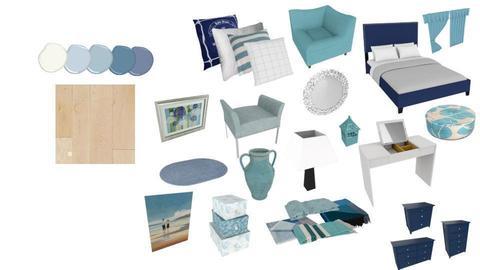 ocean bedroom - by evrska