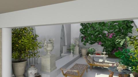 Roman courtyard - Classic - Garden - by brianclough