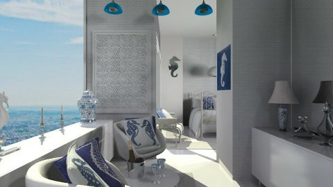 sea horse beach room - Modern - Bedroom - by mendes