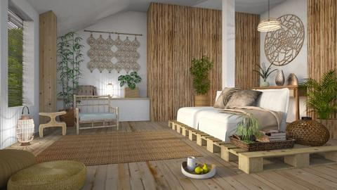 Bamboo Living - Living room - by LB1981