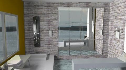 bagno acqua7 - Glamour - Bathroom - by catcarla