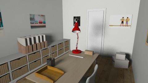 Despacho - Retro - Office - by carlanieto