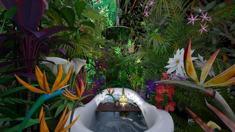 Birds of Paradise Jungle - Bathroom - by AlocinB