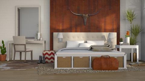 Big Western - Country - Bedroom - by millerfam