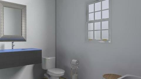 135 booth bathroom_01 - Eclectic - Bathroom - by drobin74
