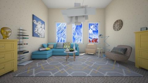 Cow pic - Retro - Living room - by Liu Kovac