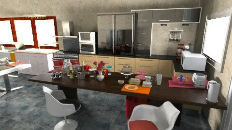 Kitchen - Eclectic - Kitchen - by Teddyyy