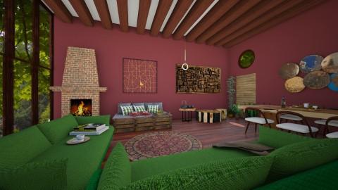 Campi - Rustic - Living room - by RaquelG