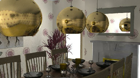 Time To Dine - Dining Room - by Decorator1000