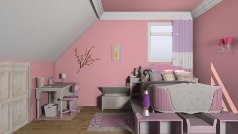 pink  - by La Reshu Lona