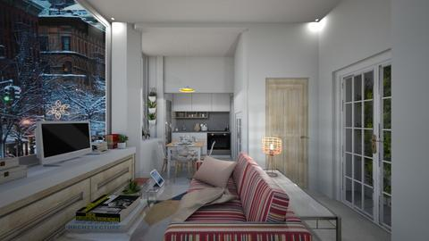 Casa166LivingArea - Eclectic - Living room - by nickynunes