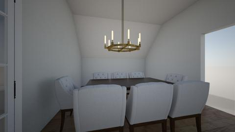 dINING RO - Dining room - by JonahLuetke