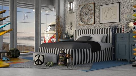 Malibu - Global - Bedroom - by LuzMa HL